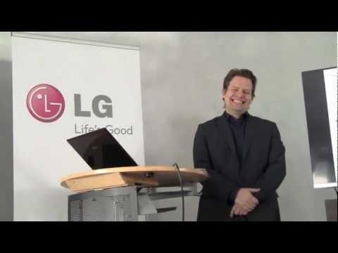 LG stellt vor: Smartphone LG OPTIMUS TRUE HD LTE