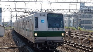 2018/08/02 【発車メロディー】 常磐緩行線 東京メトロ 6000系 6102F 金町駅