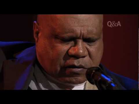 Archie Roach 'We Won't Cry' Live on Q&A