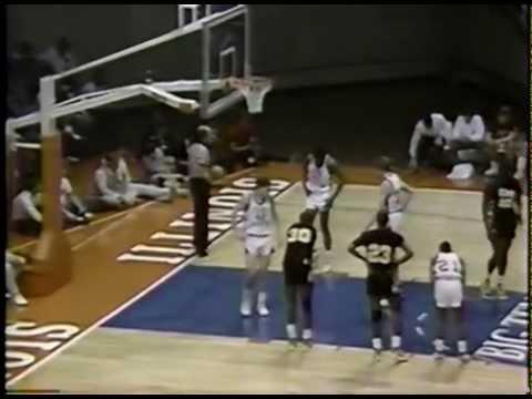 1987 IHSA Boys Basketball Class AA Quarterfinal Game: Chicago (King) vs. Elgin (H.S.)
