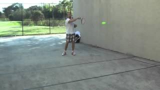 Тренировки у стенки для Альбины 3