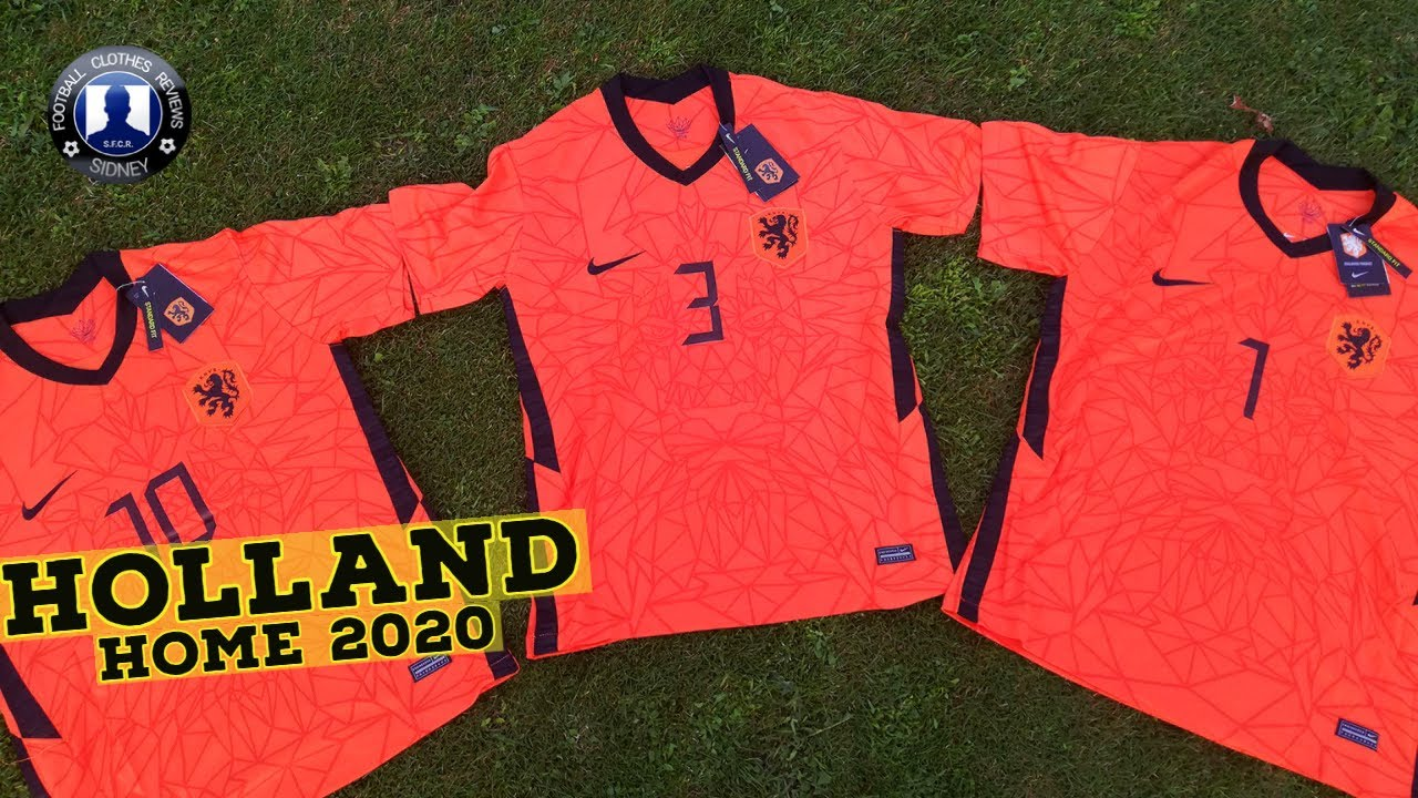 Nike Netherlands Euro 2020 Home Kit Unboxing + Try on!! [AliExpress]