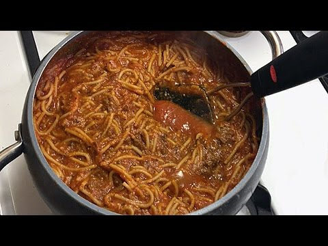 How-To Cook The PERFECT SPAGHETTI For DATE NIGHT 🍝😋