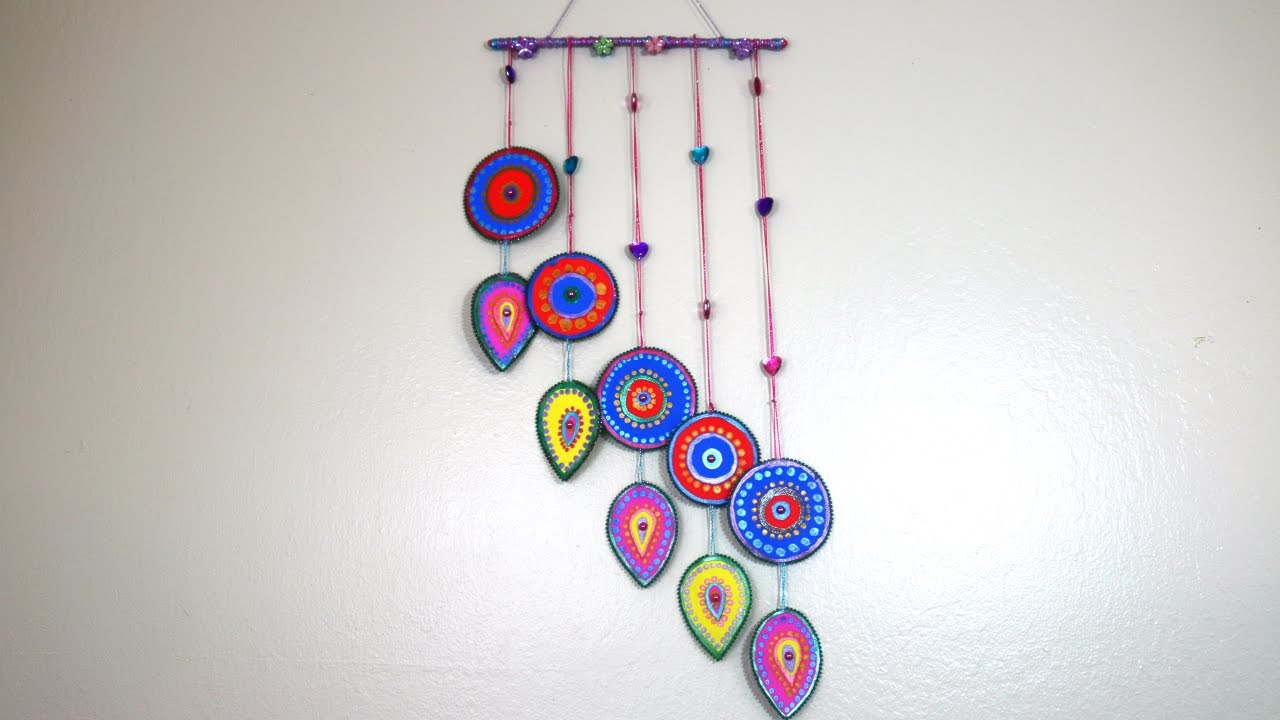 Diy Beautiful Wall Hanging For Home Decorations Youtube