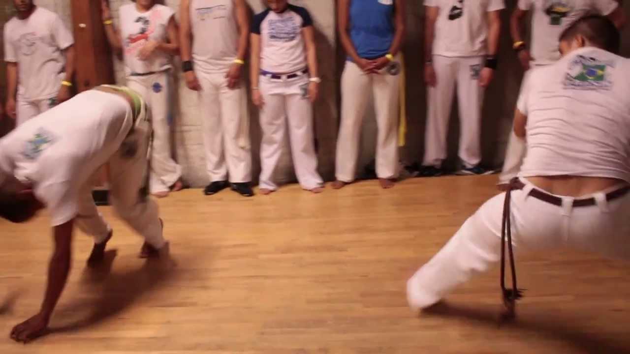 Batizado Capoeira brasil DTLA thrusday - YouTube