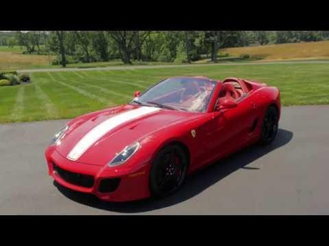 2011 Ferrari 599 Sa Aperta Mecum Monterey 2016 Youtube