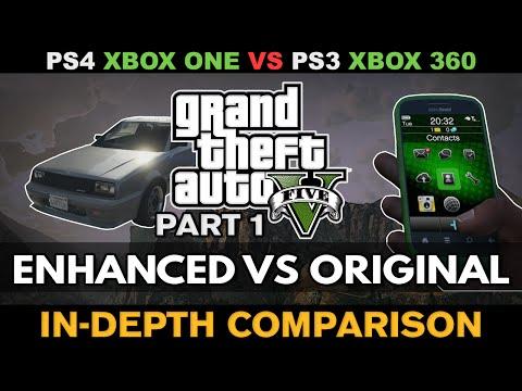 GTA V - Enhanced VS Last-gen version [Comparison]