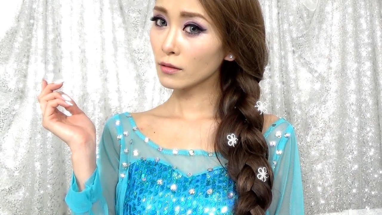 アナと雪の女王*エルサ風メイク【アナ雪】