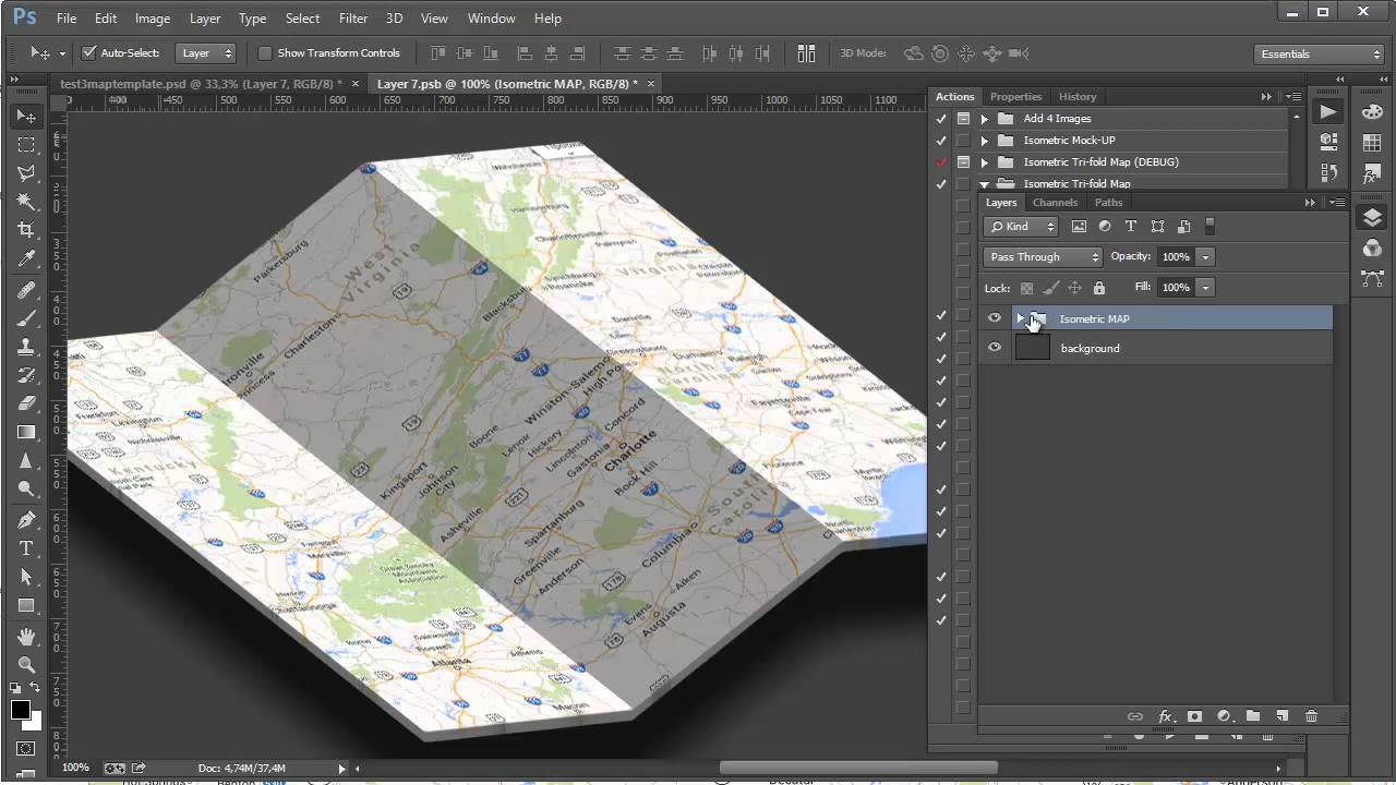 how to use isometric maps on roll20