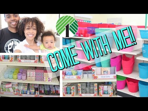 $1 Dollar Tree Shopping Vlog! I Hit the Organization Products Jackpot!