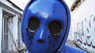 как сделать маску Безглазого Джека из Крипипасты из Бумаги