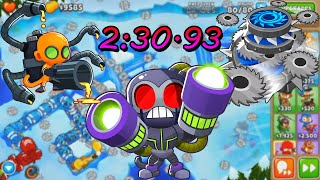 "NEW Bloons TD6 Race ""Ice Age"" in 2:30.93"