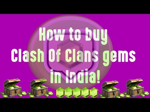 How to buy Clash of Clans Gems in India