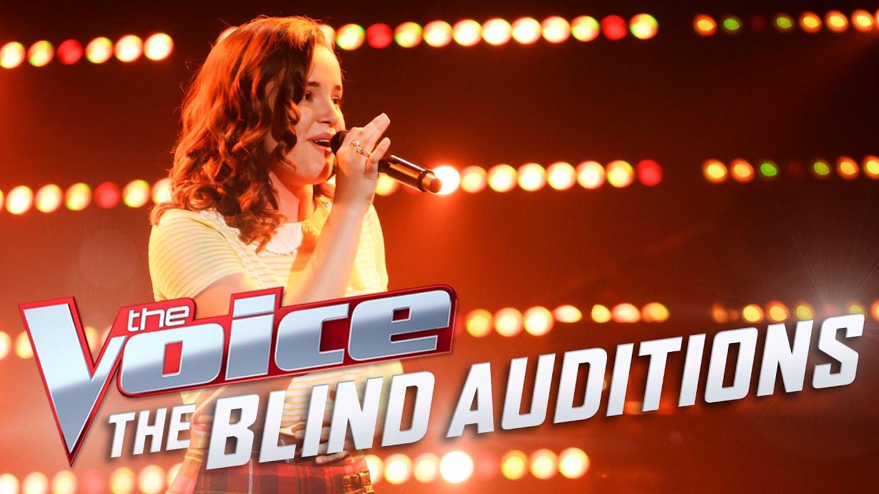 Camryn Jordans Performs Chandelier The Voice Australia 2017