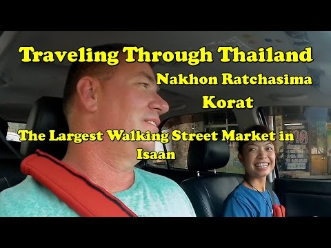 Nakhon Ratchasima (Khorat) Day 1 Crazy huge city with Giant