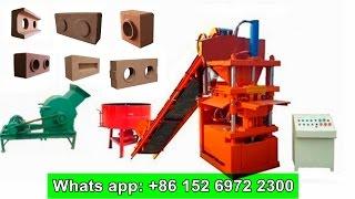 SYN1-5 full automatic hydraulic press block production line,lego brick making machine