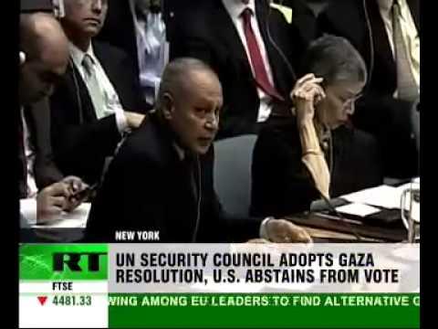 UN supports Gaza ceasefire plan