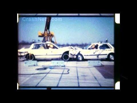 1984 Honda Accord Vs Chevy Celebrity | Head-on Crash Test By NHTSA | CrashNet1