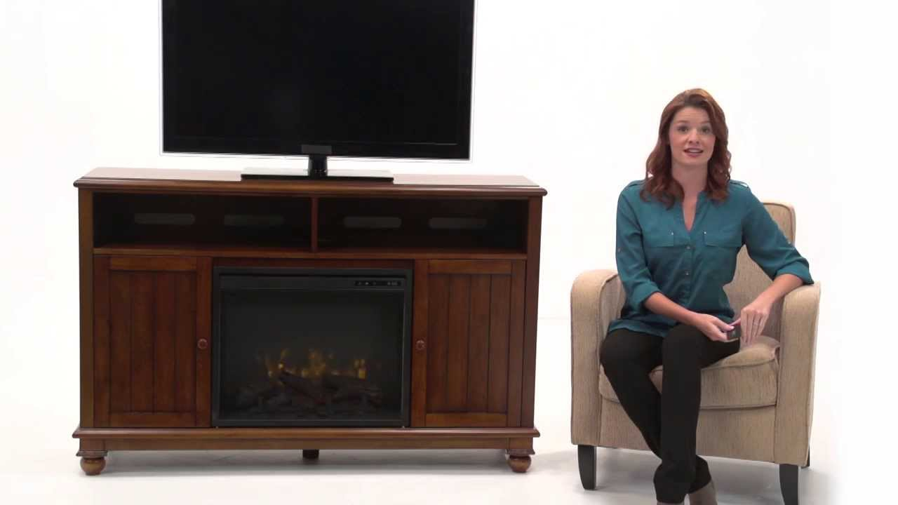 pleasant hearth pearson media electric fireplace youtube