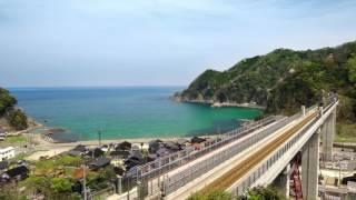 【動画】絶景の中を走る! 周遊型臨時寝台列車『TWILIGHT EXPRESS 瑞風』