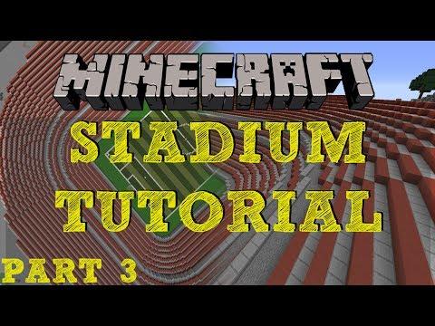 Minecraft Stadium Tutorial - Part 3 - Curved Corners & Curvature