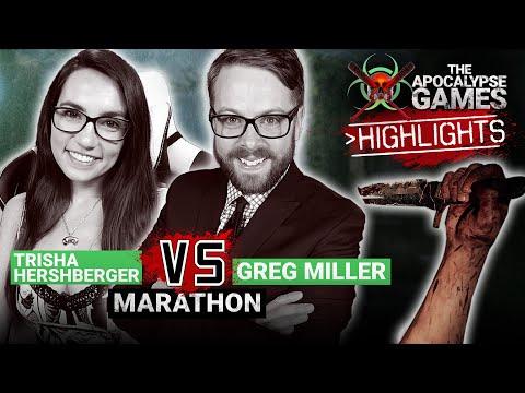 GREG MILLER vs. TRISHA HERSHBERGER – MARATHON STREAM RECAPS