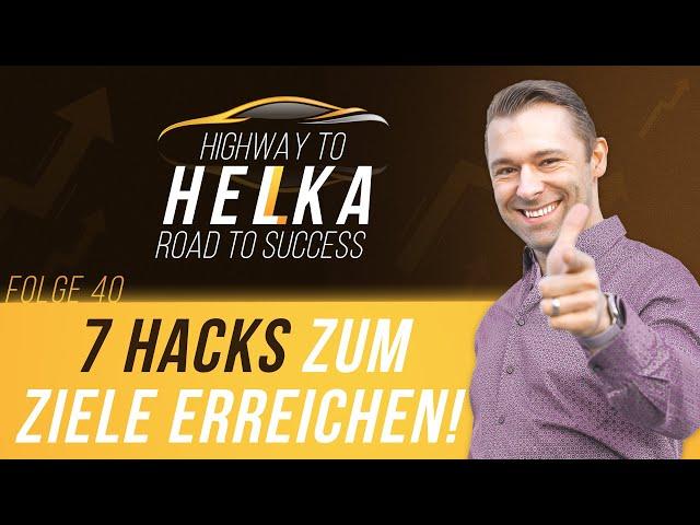 7 Hacks - So ERREICHST du sicher deine ZIELE! 💡✅