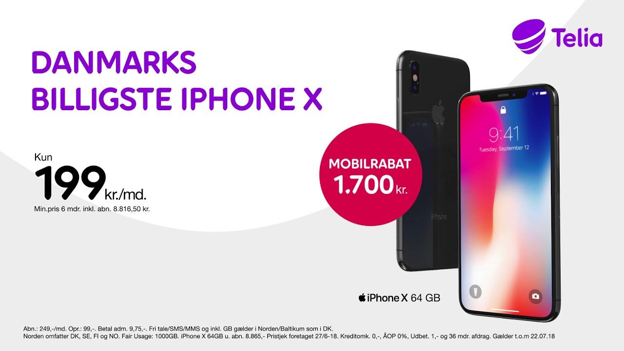 Iphone X Telia