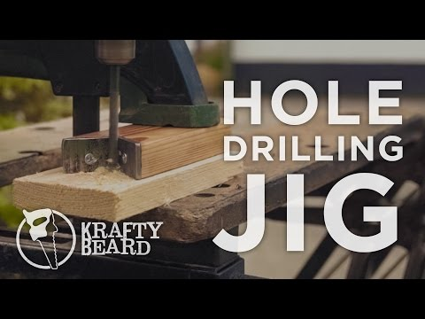 Drilling straight holes without a drill press - Making a Drill Guide Jig