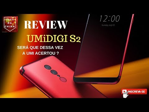 Análise Umidigi s2 Português Brasil