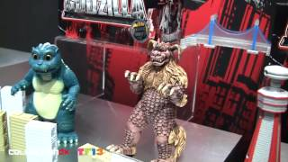 Godzilla Toys at New York Toy Fair 2013 - CollectionDX