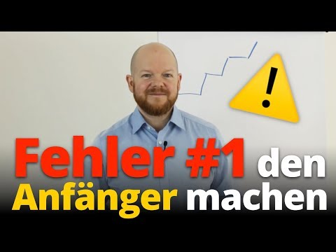 Den Fehler #1 den Anfänger machen |Jens Rabe