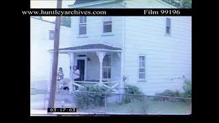 UN Flag is raised, 1975.  Archive film 99197 #138 #843