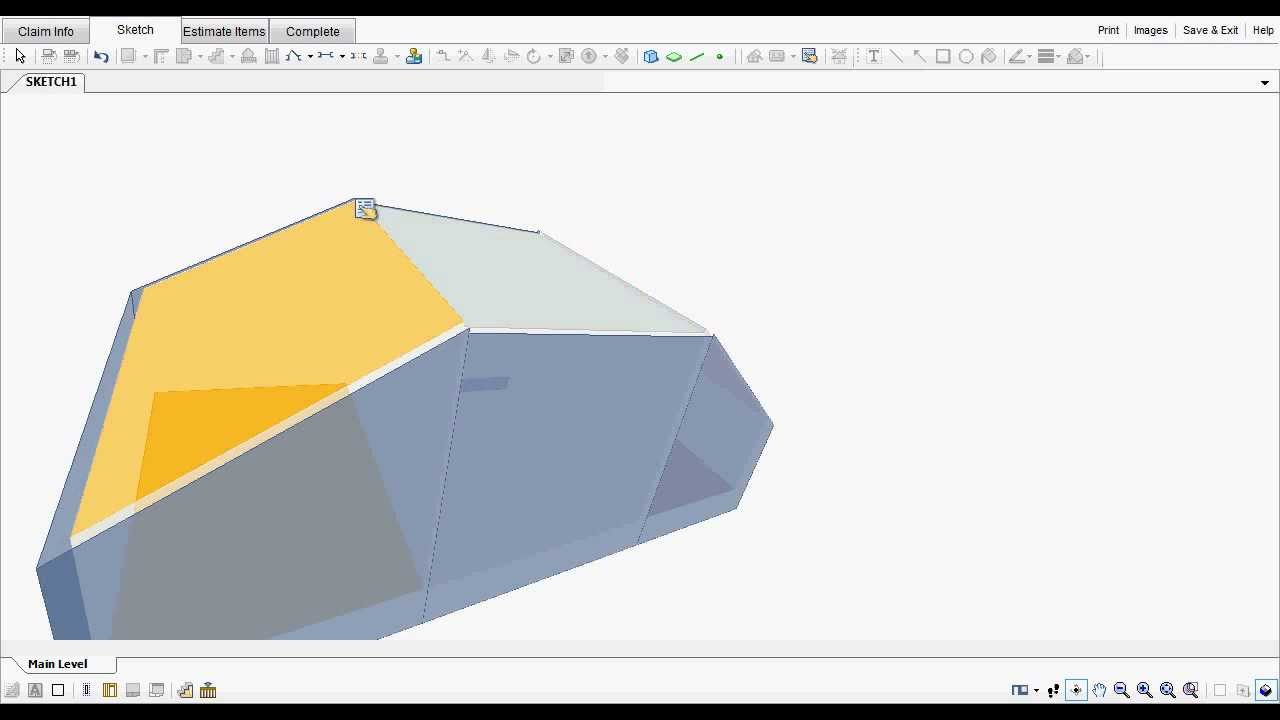 "Xactimate Sketch tip- ""Barrel"" shaped ceilings | Top Adjuster"