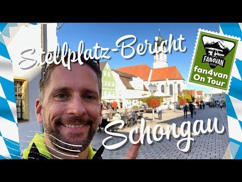Wohnmobil Stellplatz Bericht aus Schongau - klein aber fein