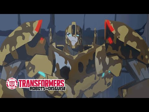 Transformers: Robots In Disguise - 'Sticky Situation' Official Clip