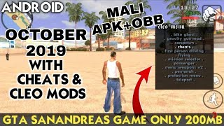 200mb New GTA San andreas 2019 with proof gameplay Mali cpu apk + obb