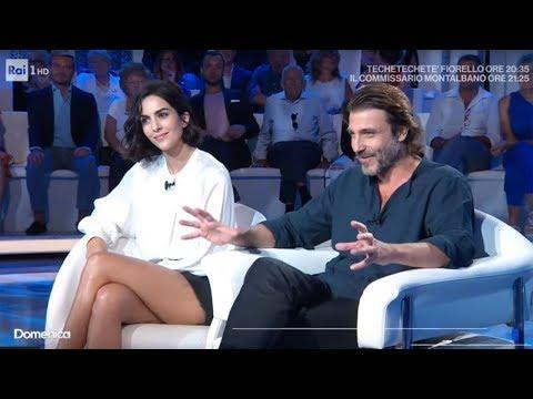 """Daniele Liotti e Rocío Muñoz Morales raccontano """"Un passo dal cielo 5"""" - Domenica In 15/09/2019"""