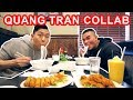 EATING WITH QUANG TRAN | VIETNAMESE FEAST MUKBANG (Pho, Spring Rolls) | QT Collab & Eating Show