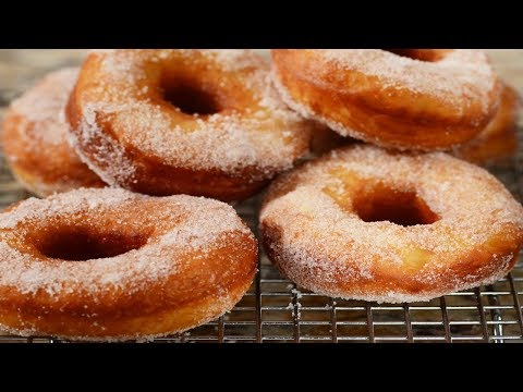 Homemade Doughnuts Recipe Demonstration - Joyofbaking.com