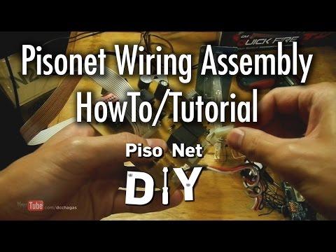 Pisonet DIY: Basic Wiring Setup Howto/Tutorial [Tagalog]