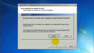 problème démarrage de windows