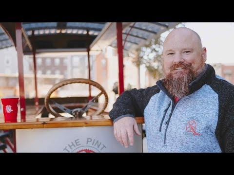Faces of Tourism: Chris Hutchinson, Pint Cycle in Fishers, Indiana