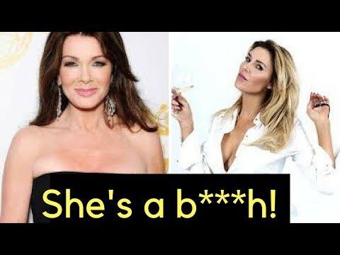 Brandi Glanville Lisa Vanderpump feud ESCALATES!