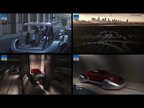 Underground Tunnel Plan for Beating Traffic : Underground Buses : Develop Hyperloop : Elon Musk