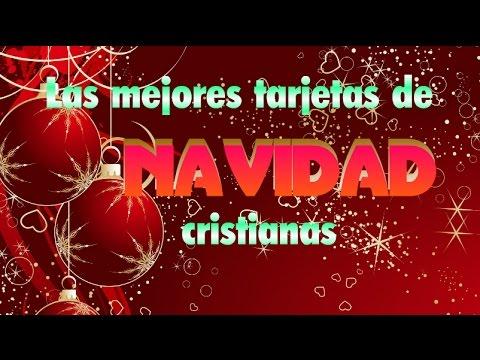 Las mejores tarjetas de navidad cristianas youtube - Tarjetas navidenas cristianas ...