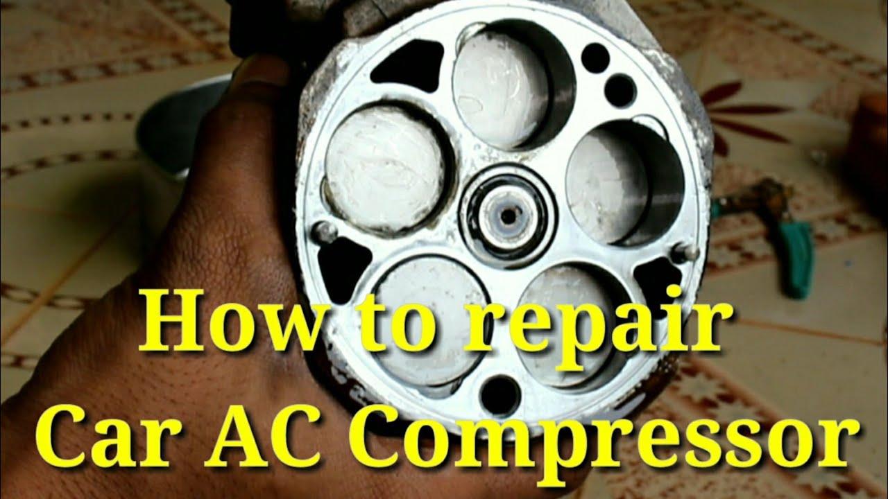 How To Repair Car Ac Compressor