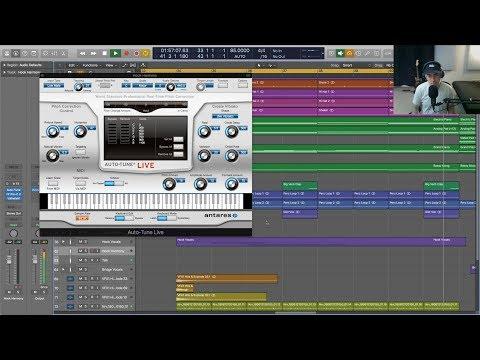 Finding Vocal Harmonies with Auto-Tune Live