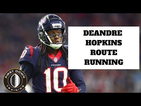 DEANDRE HOPKINS ROUTE RUNNING Breakdown - Houstan Texans - Best Hands In The NFL
