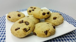 Healty Chocolate Chip Cookies (gluten Free, Dairy Free)
